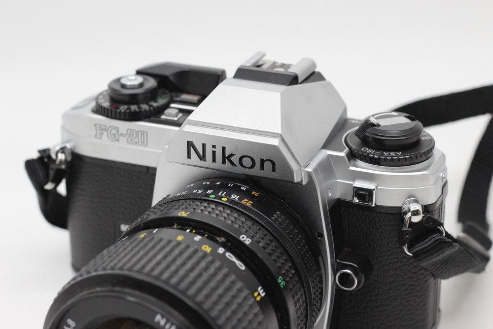 ニコン Nikon FG-20 NIKKOR 35-70mm 3.5-4.8 フィルムカメラ_画像2