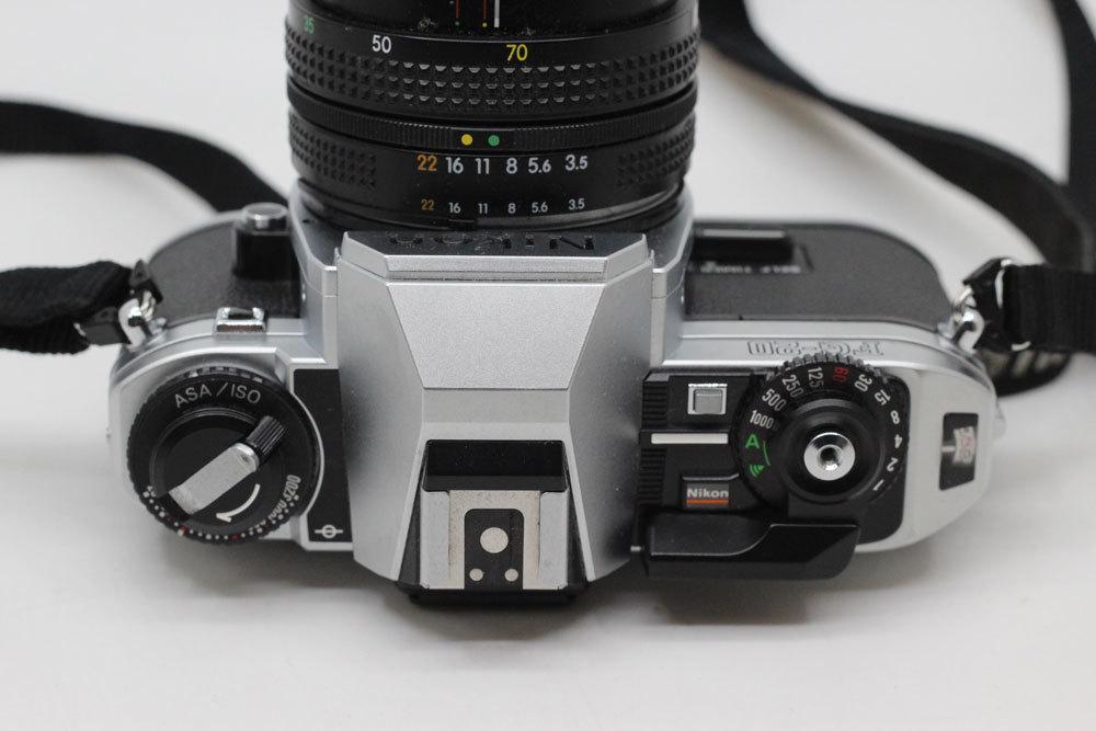 ニコン Nikon FG-20 NIKKOR 35-70mm 3.5-4.8 フィルムカメラ_画像4