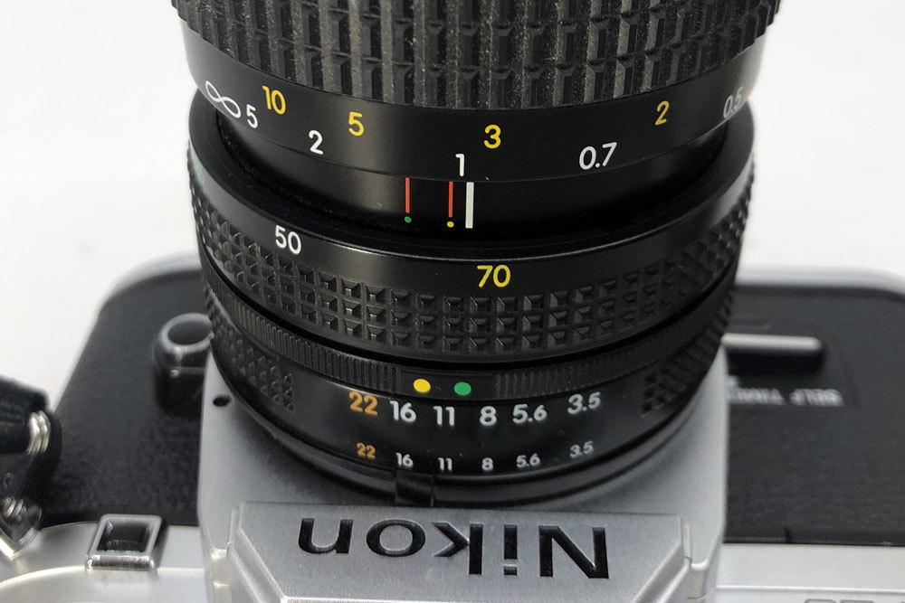 ニコン Nikon FG-20 NIKKOR 35-70mm 3.5-4.8 フィルムカメラ_画像5