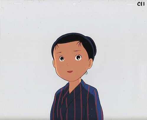 九頭竜川と少年 19404-06(238)_画像1
