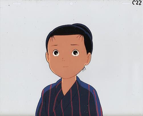 九頭竜川と少年 19404-05(236)_画像1