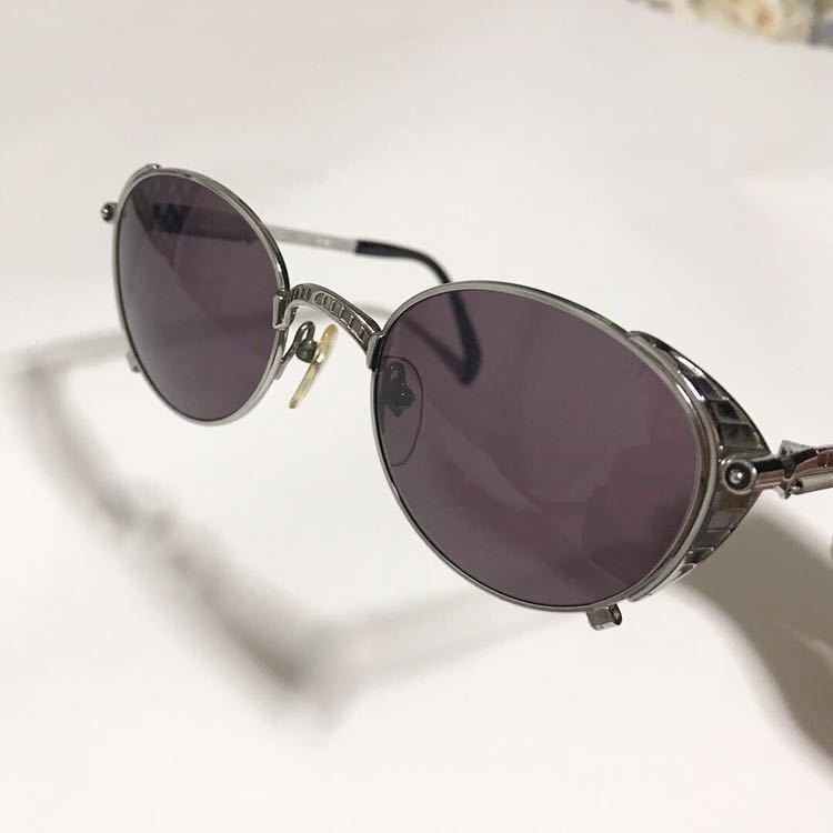 jean paul gaultier サングラス ゴルチエ ゴルチェ バネ 丸メガネ 眼鏡