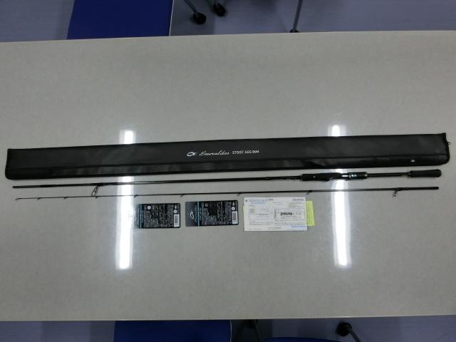 DAIWA エギングロッド エメラルダス ストイスト AGS 84M 未使用品