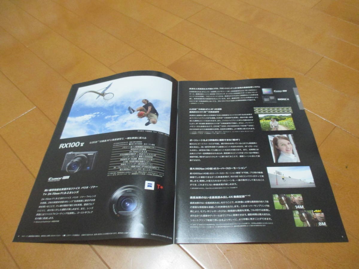E12679 catalog * Sony *RX100 RX102018.12 issue 19 page