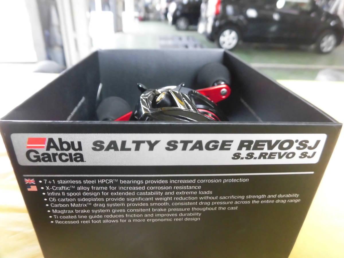 1円売り切り!アブガルシア 使用2回 SALTYSTAGE REVO SJ ソルティーステージレボ SJ タイラバ ティップラン 一つスッテ 右ハンドル_画像10