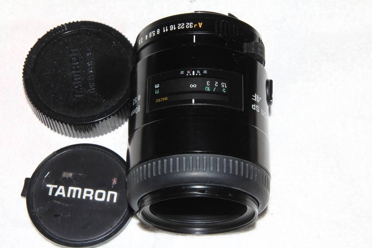 タムロン TAMRON AF SP 90mm F2.5 マクロ MACRO ペンタックス PENTAX 用 52E_画像2