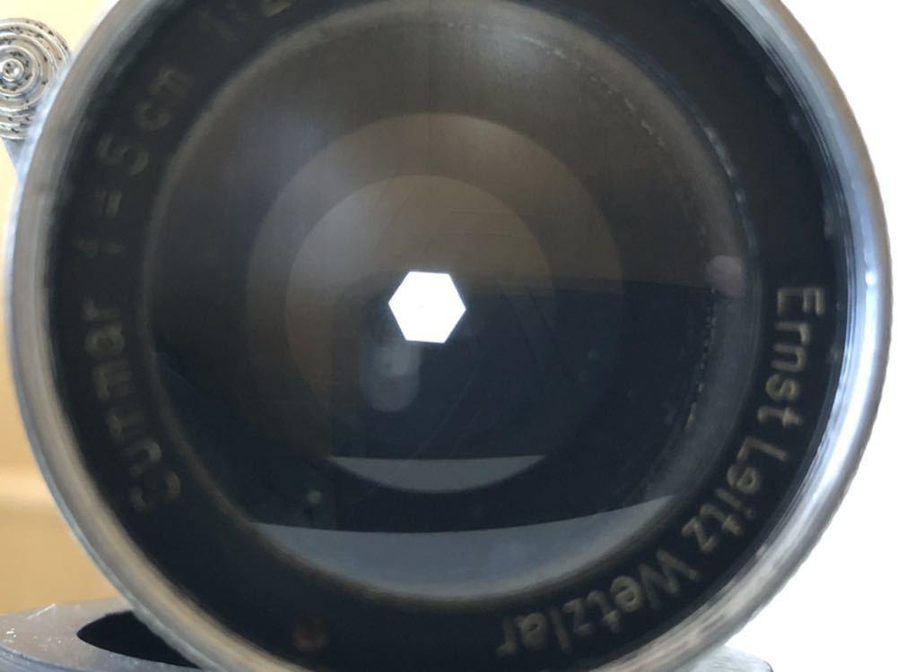 Summar 5cm f2 ズマール 50mm Ernst Leitz Wetzlar Germany 標準レンズ 銘玉 バルナックライカ Lマウント mtr標記 1936年 ドイツ製_画像8