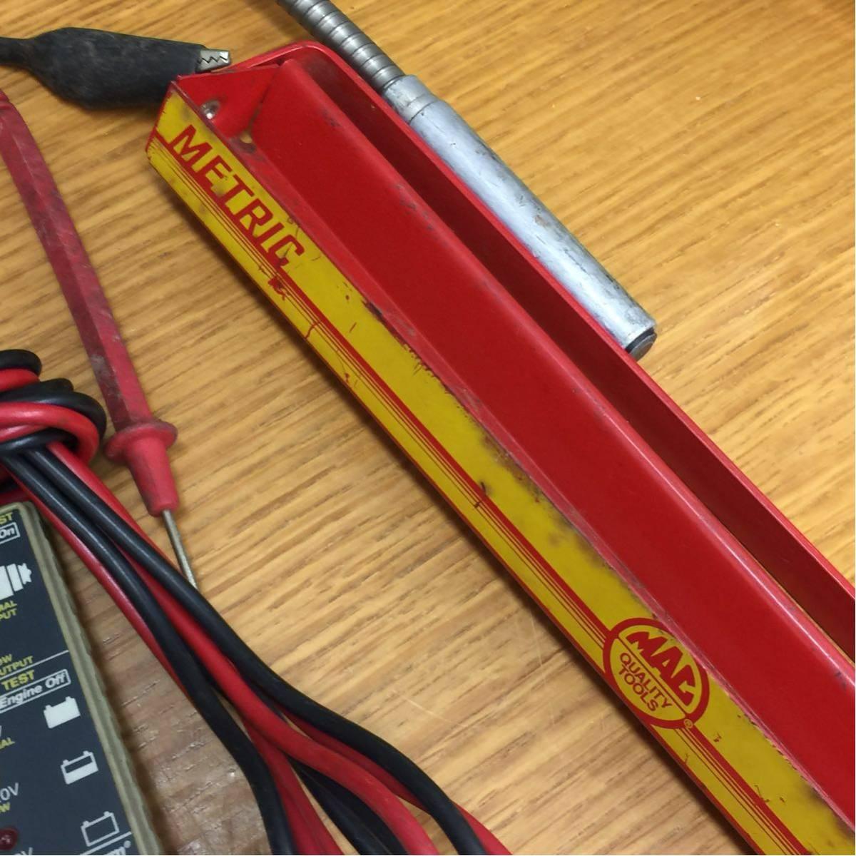 ☆工具 自動車整備 大量まとめ ドライバー ラチェット ソケット はんだごて プライヤー 16.8kg Snap-on KTC Banzai MAC-Tools CRAFTSMAN 他_画像8
