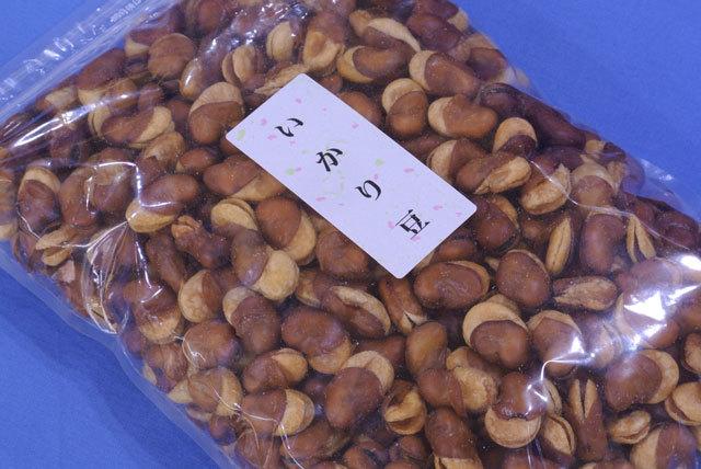 いかり豆(どっさり1kg)特価そら豆のフライおつまみ♪大粒のフライビーンズ旨い珍味ソラ豆はこれ!おつまみフライビーンズ【送料込】_商品名は「いかり豆」原料名はそら豆です!