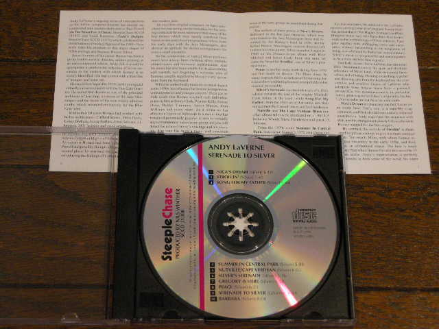 【アンディ・ラヴァーン・クインテット/ホレス・シルバーに捧ぐ】ビリー・ドラモンド他 ★23年前発売CD★超希少★1996年輸入美盤★名盤_画像3