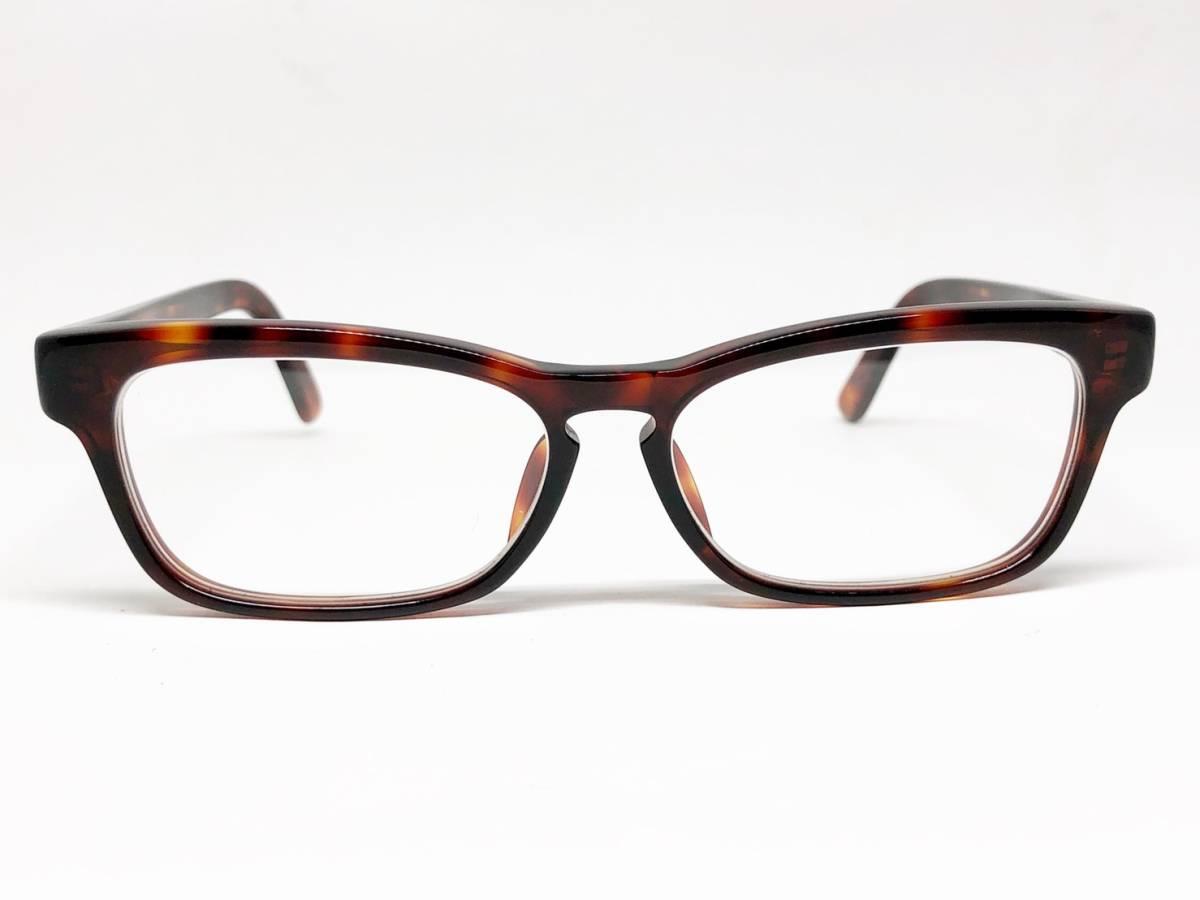 希少 《 Opticien Loyd / 廃盤 》 美品 【 オプティシアンロイド LOD-07 ウェリントン デミ 眼鏡 日本製 ケース付属 】_画像1