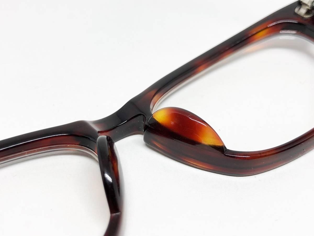 希少 《 Opticien Loyd / 廃盤 》 美品 【 オプティシアンロイド LOD-07 ウェリントン デミ 眼鏡 日本製 ケース付属 】_画像3
