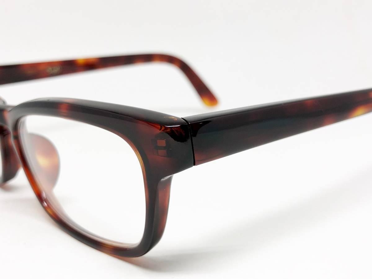 希少 《 Opticien Loyd / 廃盤 》 美品 【 オプティシアンロイド LOD-07 ウェリントン デミ 眼鏡 日本製 ケース付属 】_画像10