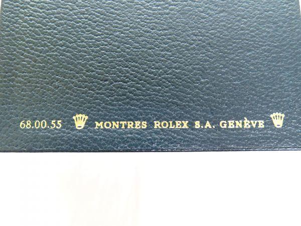 1円 ROLEX ロレックス 時計BOX 箱 取説 保証書 イカリ カードケース 68.00.55_画像4