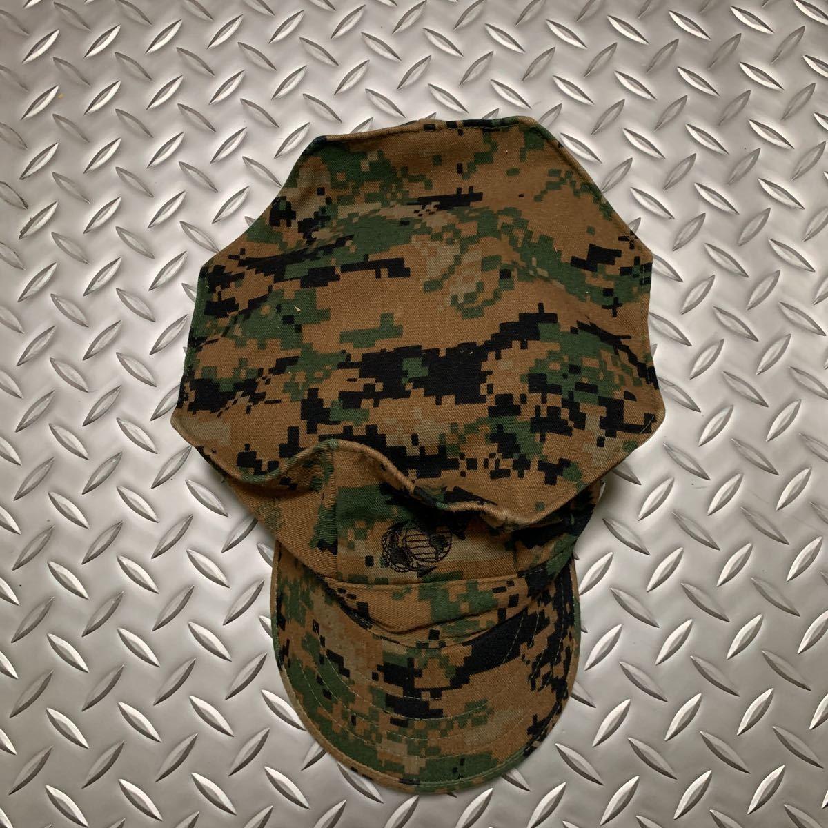 米軍 実物 新品 USMC 海兵隊 マーパット 帽子 サイズ L ミリタリーキャップ パトロールキャップ _画像3