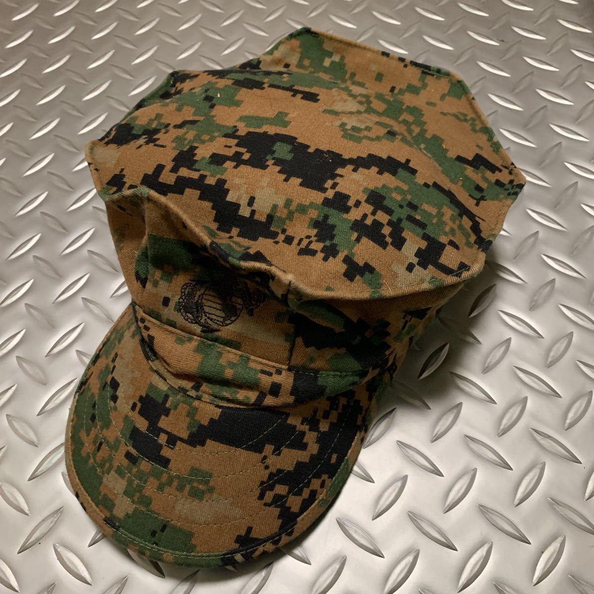 米軍 実物 新品 USMC 海兵隊 マーパット 帽子 サイズ L ミリタリーキャップ パトロールキャップ _画像1