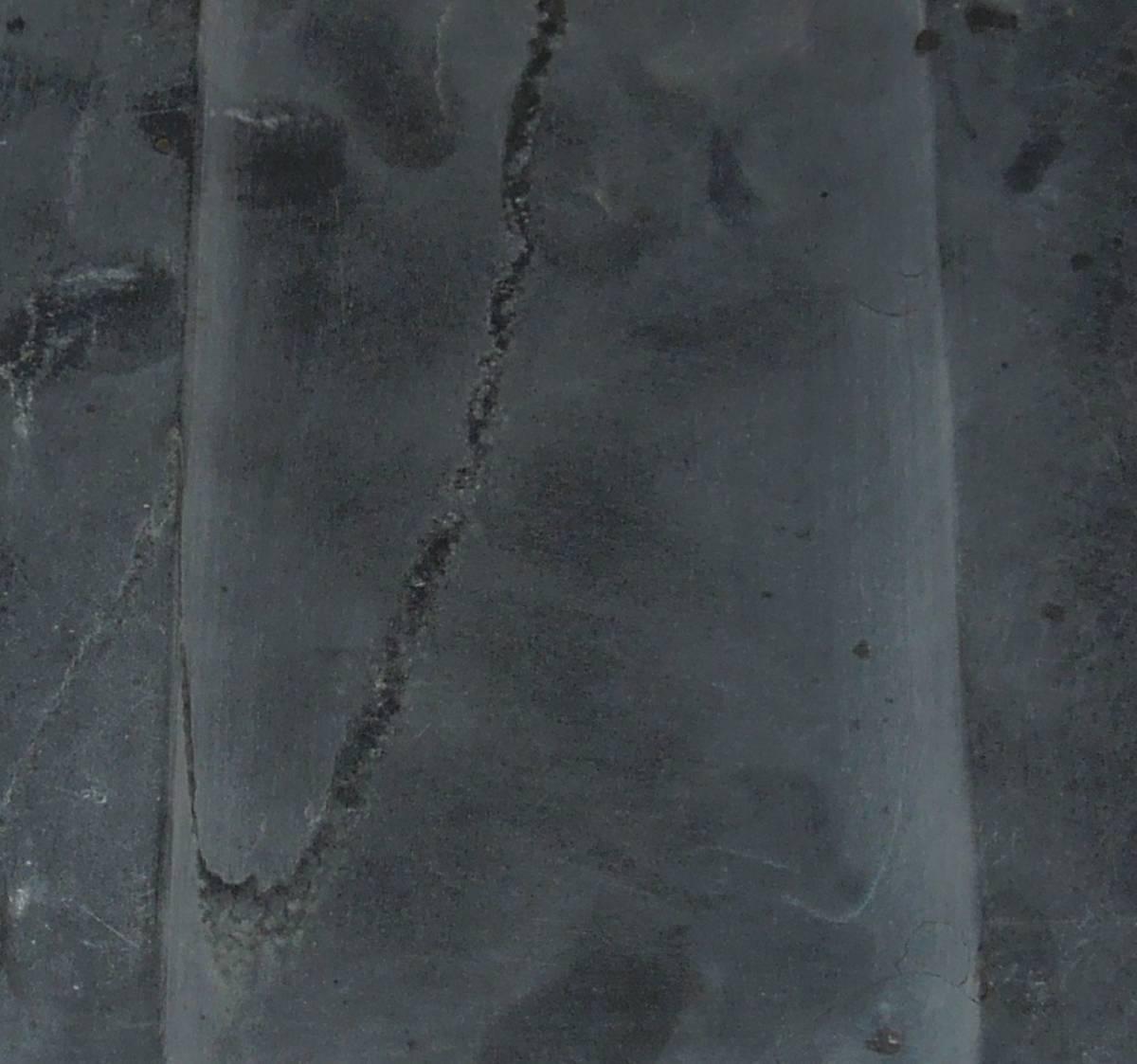 書道具  硯 古硯 歙州 金星・金暈 線綺麗 約18.9cm×12.3cm×2.8cm_画像6