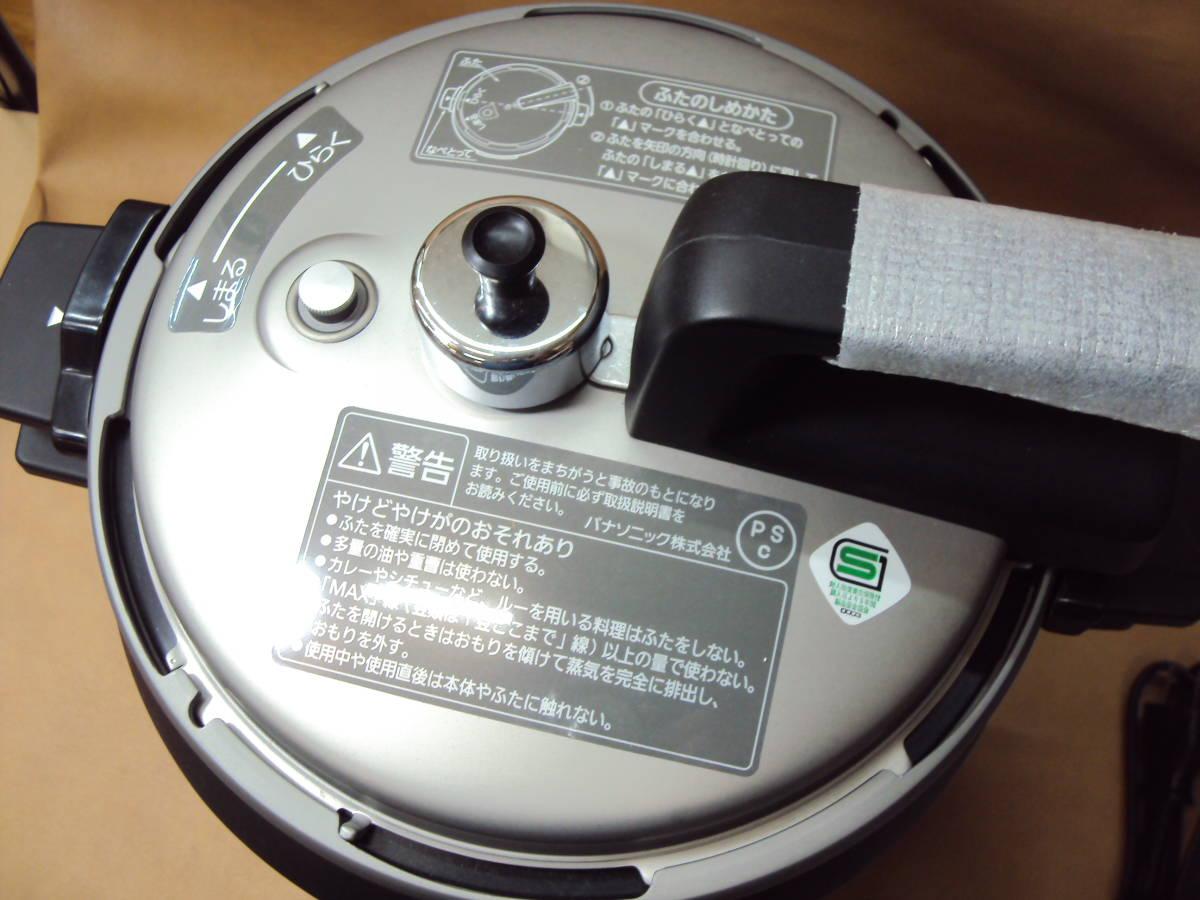 美品 12年製 パナソニック 電気圧力鍋 SR-P37 家庭用 ピンク_画像3