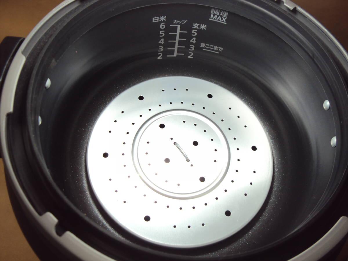 美品 12年製 パナソニック 電気圧力鍋 SR-P37 家庭用 ピンク_画像5