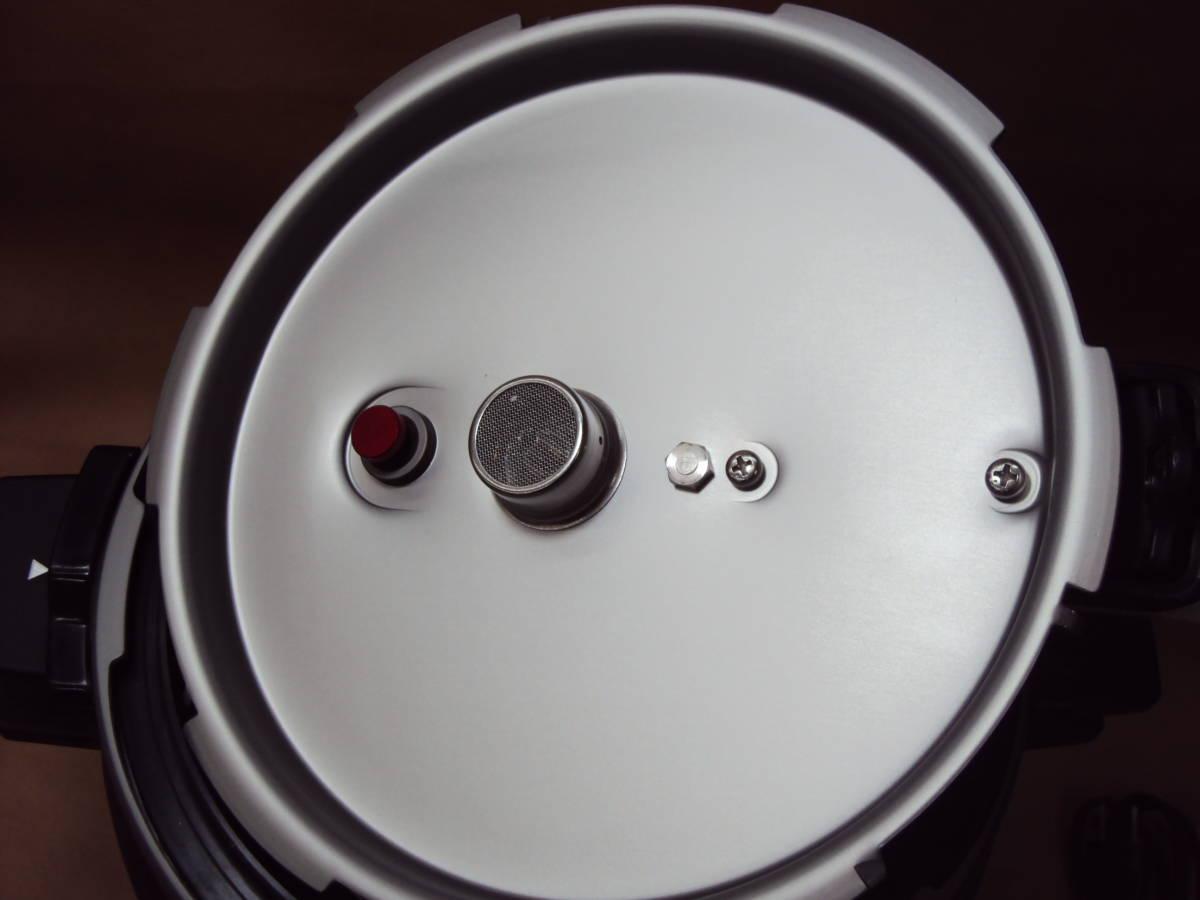 美品 12年製 パナソニック 電気圧力鍋 SR-P37 家庭用 ピンク_画像7
