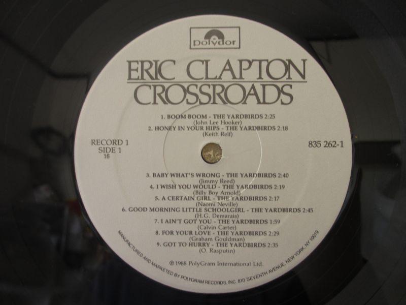 未発表 / 6枚組LPボックス / Eric Clapton / エリッククラプトン / Crossroads / Polydor / US盤 / オリジナル_画像5