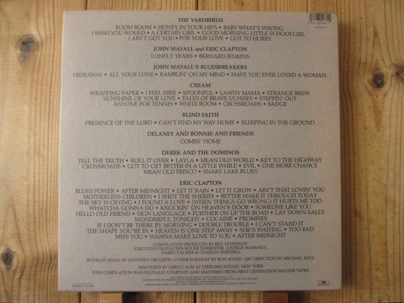 未発表 / 6枚組LPボックス / Eric Clapton / エリッククラプトン / Crossroads / Polydor / US盤 / オリジナル_画像4
