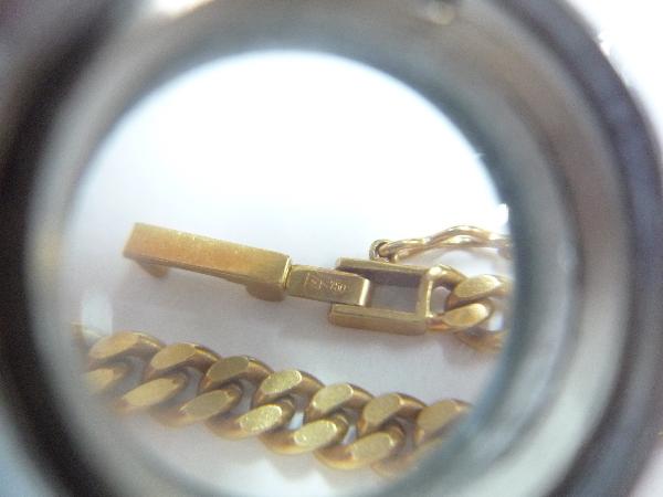 K18 18金 750 喜平 2面 ネックレス 30.1g 50cm☆造幣局 ホールマーク_画像7