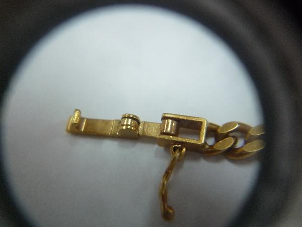K18 18金 750 喜平 2面 ネックレス 30.1g 50cm☆造幣局 ホールマーク_画像8