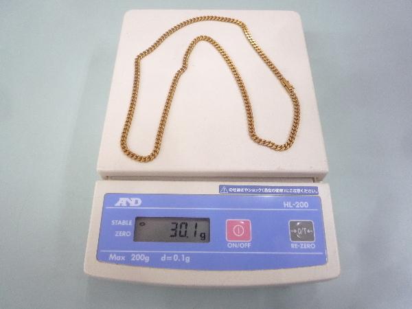 K18 18金 750 喜平 2面 ネックレス 30.1g 50cm☆造幣局 ホールマーク_画像9