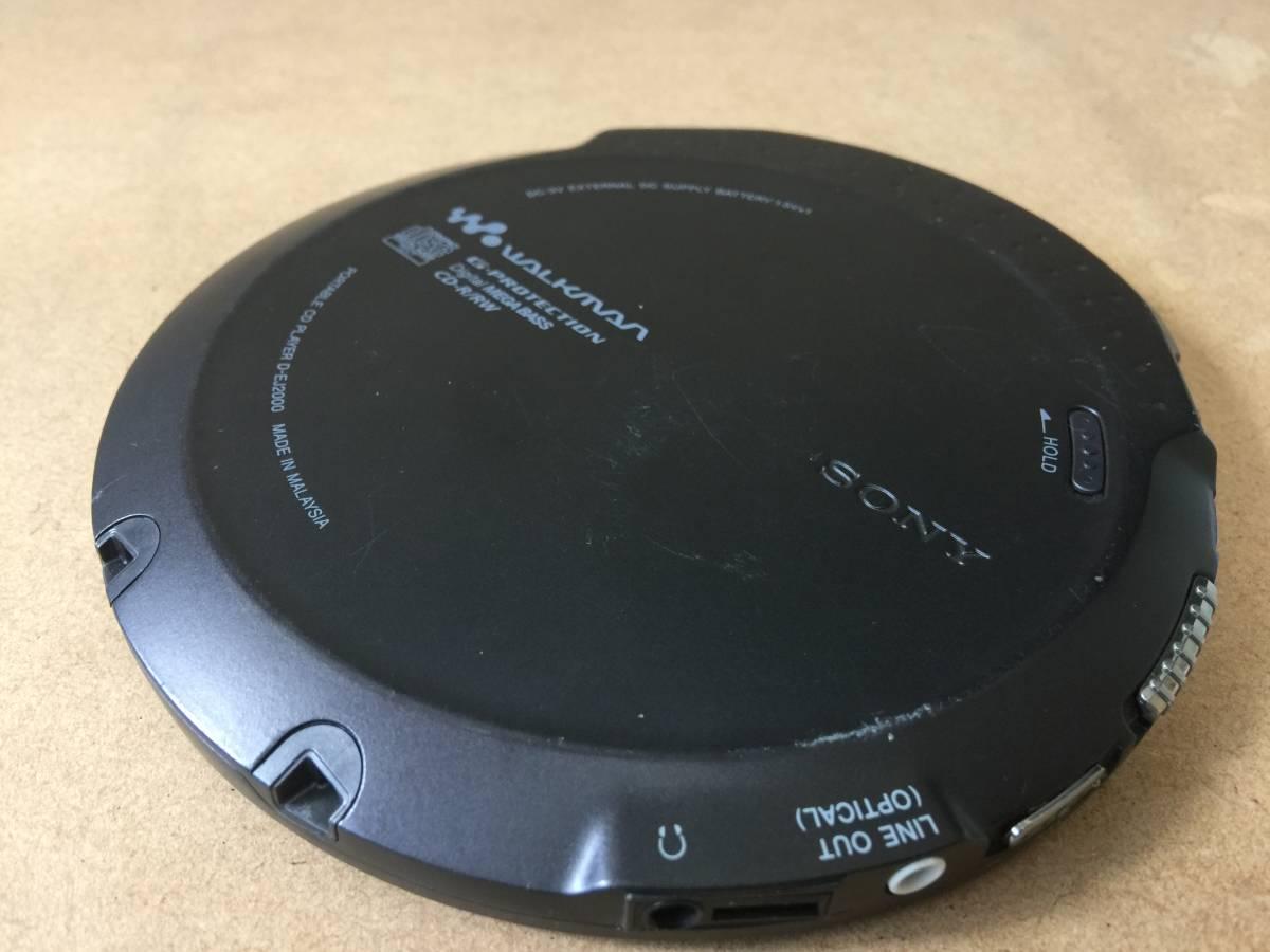 SONY ソニー CDウォークマン D-EJ2000 ジャンク扱い_画像3