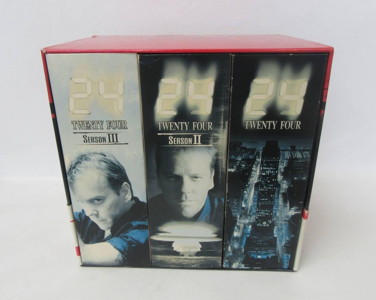 【中古DVD】24 TWENTY FOUR 3シーズン全72話 DVD 初回生産限定 デジスタック仕様 トリロジーBOX