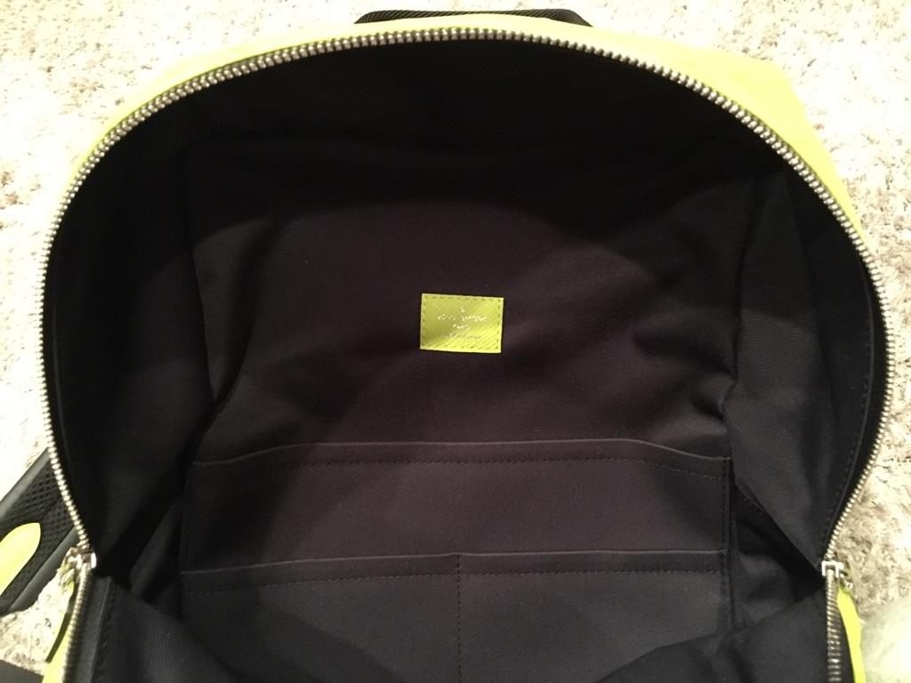 LOUIS VUITTON ルイヴィトン 新品未使用 モノグラム ディスカバリー バックパック リュック 黄 イエロー タイガラマ M23500030228_画像4