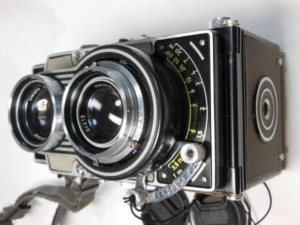 撮影テスト済は希少 flexaret Ⅵ フレクサレットオートマット Ⅵ型 _画像6
