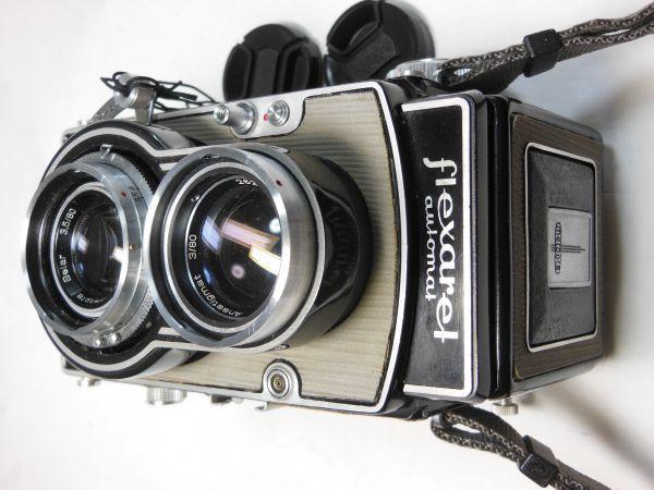 撮影テスト済は希少 flexaret Ⅵ フレクサレットオートマット Ⅵ型 _画像7