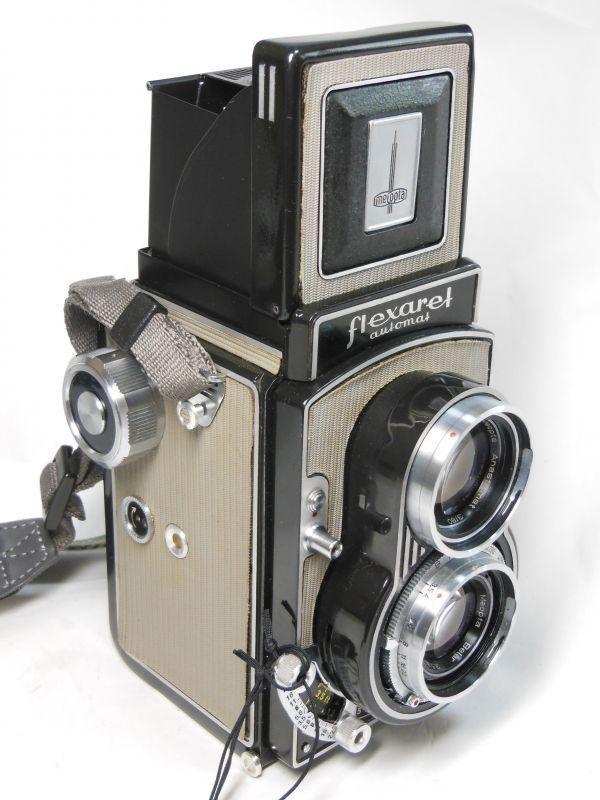 撮影テスト済は希少 flexaret Ⅵ フレクサレットオートマット Ⅵ型 _画像1