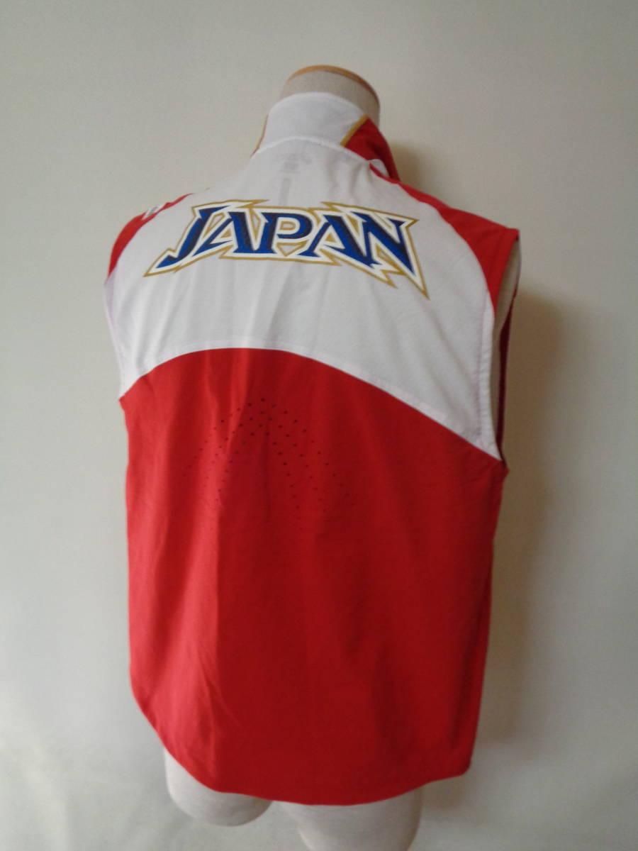 世界陸上競技選手権 アシックス ベスト ドイツ ベルリン asics sizeS 日本代表 トレーニング 選手支給 japan _画像4