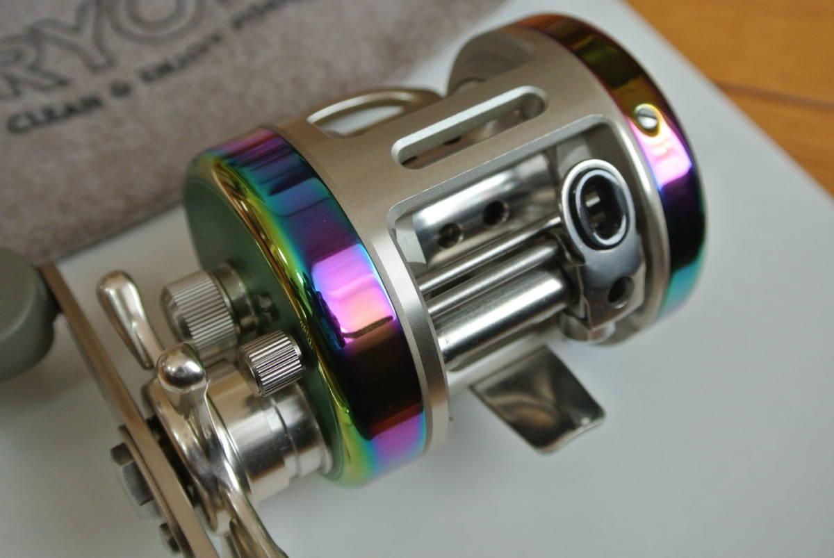 ♪♪未使用 リョービ バリウス スペクトル F200 右巻き 日本製 ♪♪_画像2