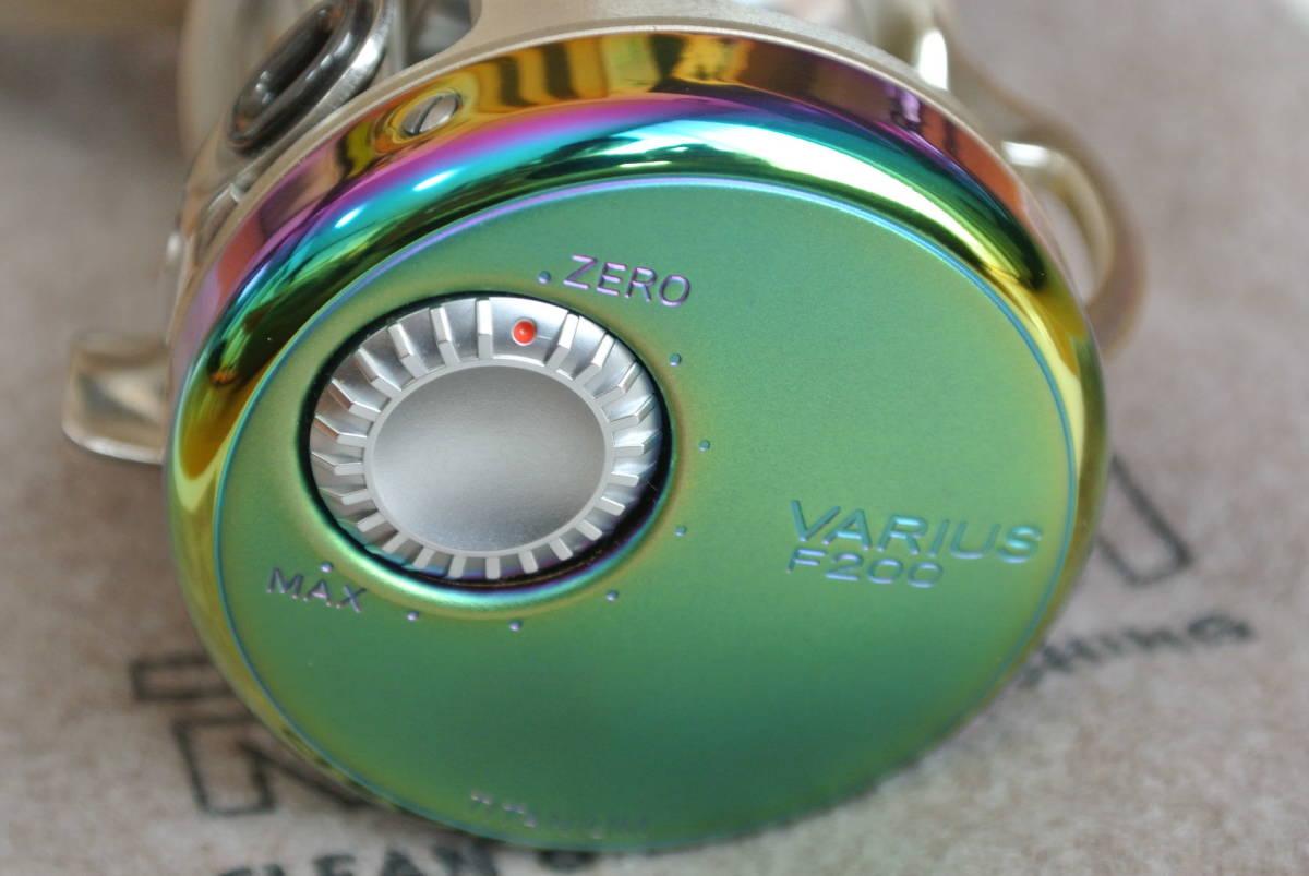 ♪♪未使用 リョービ バリウス スペクトル F200 右巻き 日本製 ♪♪_画像5