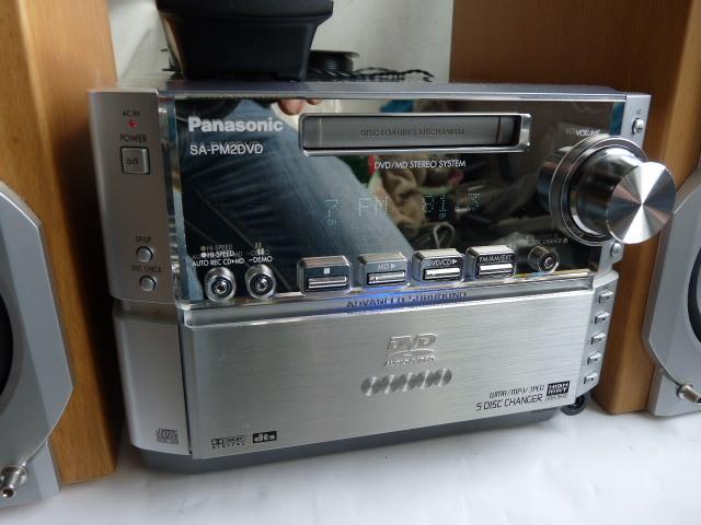 パナソニック DVD/CD/MDコンポ ◆SA-PM2DVD _画像2