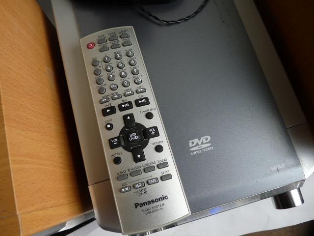 パナソニック DVD/CD/MDコンポ ◆SA-PM2DVD _画像6