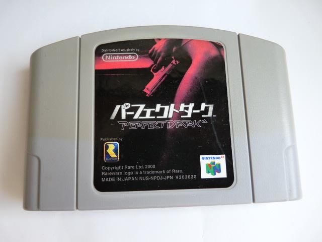 N64 ニンテンドー64ソフト◆パーフェクトダーク