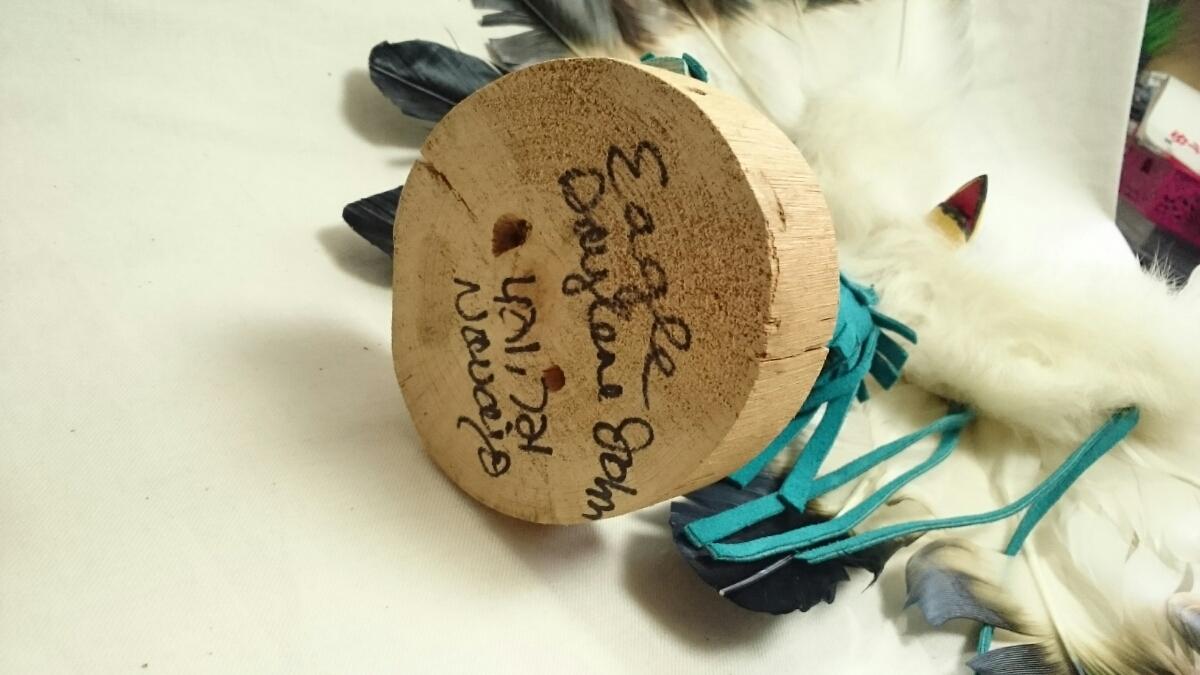土曜日限定 100円スタート イーグル・ダンサー カチナ ホピ族の儀式 精神世界の住人 カチーナ 精霊 伝統的人形 インディアンジュエリー_画像5