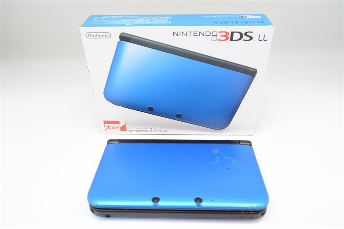 NINTENDO 任天堂 3DSLL 本体 BLUE × BLACK ジャンク