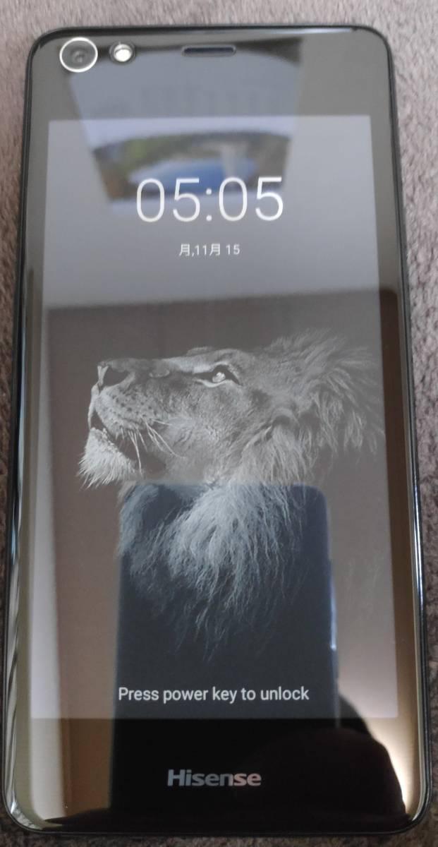 simフリー Hisense A2 4/64GB 激レア 両面画面スマホ_画像2