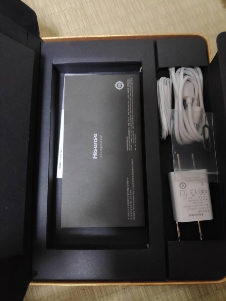 simフリー Hisense A2 4/64GB 激レア 両面画面スマホ_画像7