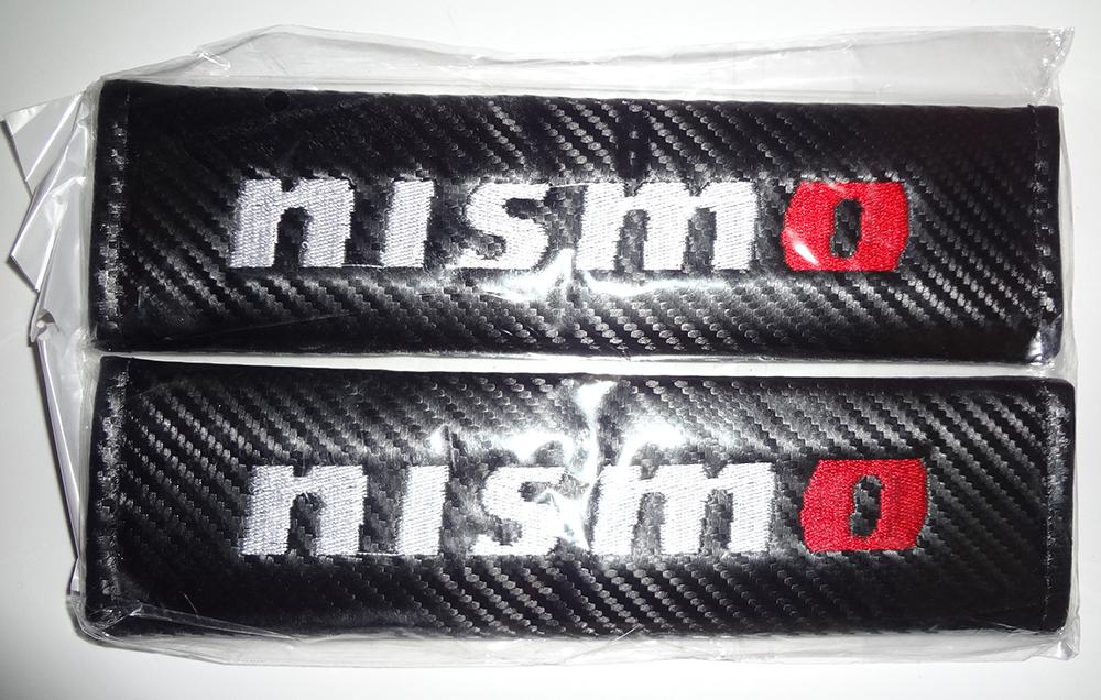 【新品・未開封・送料無料】NISMO・スタイリングオートエンブレム・シートベルトカバー・2個入り_画像4