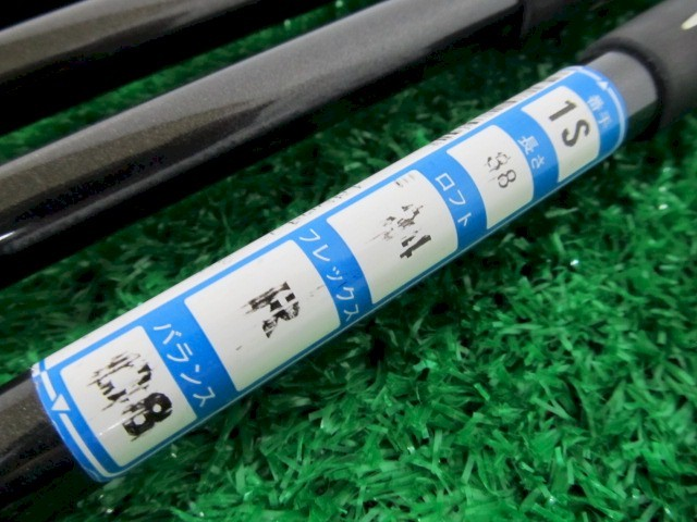 [イ460] キャスコ Kasco パワートルネード INSPIRE SUPER HYTEN 5I~9I P 計6本 純正カーボン FLEX-R_画像9