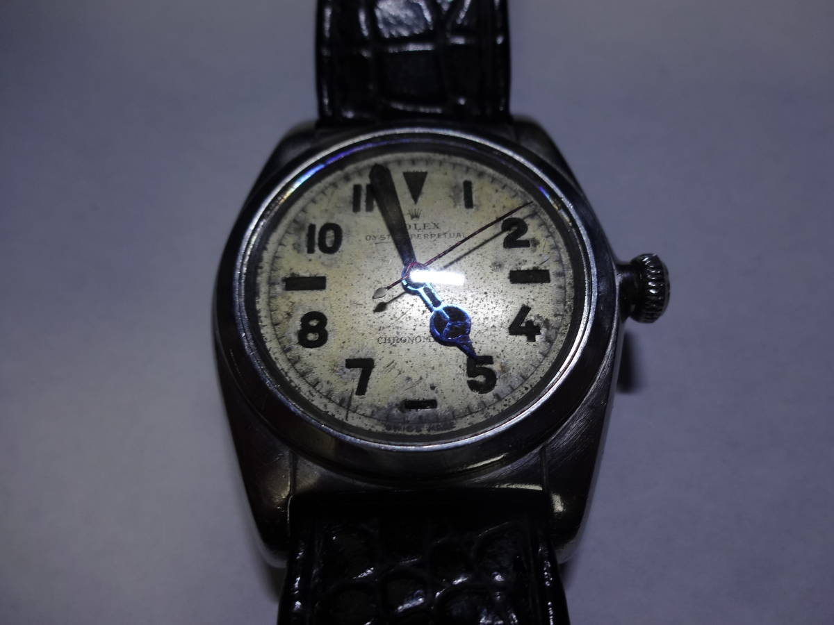 格安 ロレックス Rolex バブルバック ref.2940 ユニークダイヤル ベンツ針