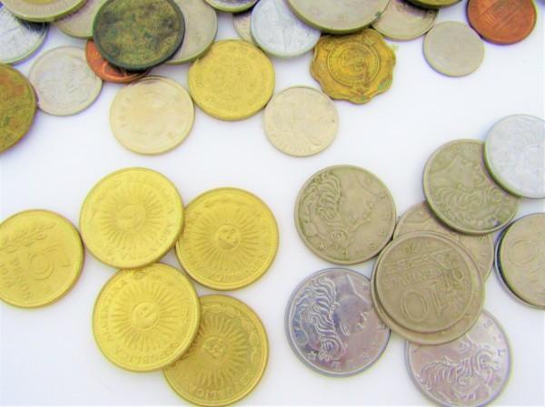 硬貨 古銭 いろいろおまとめ 日本 世界 アメリカ フランス アルゼンチン メキシコ ペルー ブラジル 香港 マレーシア 等 約2.6㎏_画像4