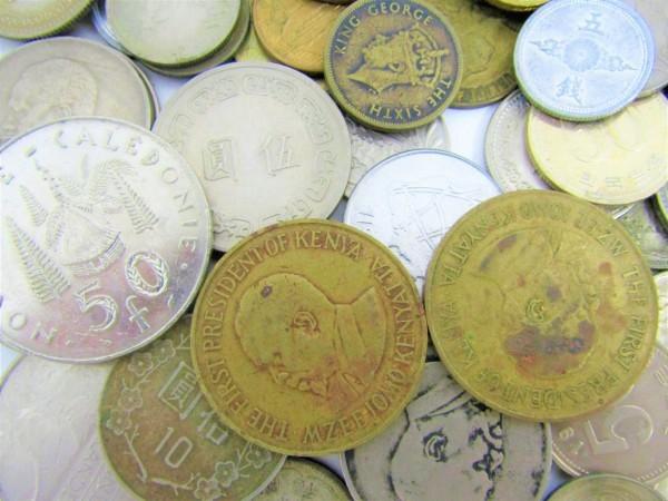 硬貨 古銭 いろいろおまとめ 日本 世界 アメリカ フランス アルゼンチン メキシコ ペルー ブラジル 香港 マレーシア 等 約2.6㎏_画像5
